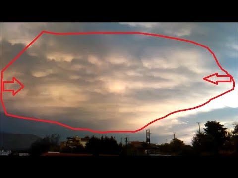 Strange Faces In The Sky & Strange Weather Phenomena With Chemtrails And...