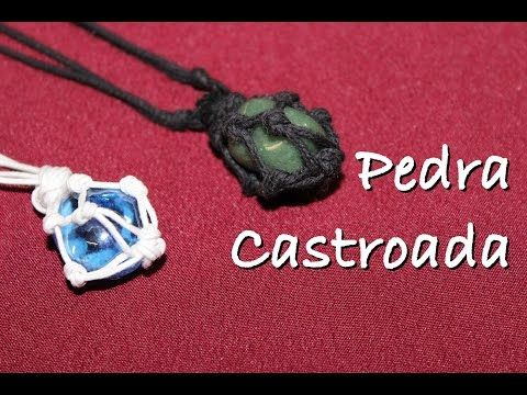 Colar de Pedra Castroada - YouTube