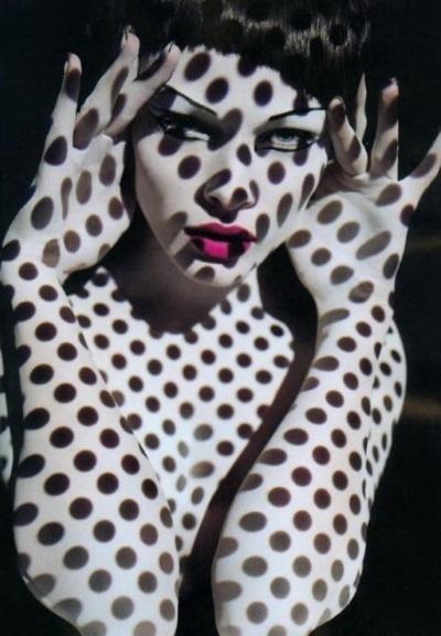 spots: Solving Sundsbo, Sølvesundsbø, Polka Dots, Edita Vilkeviciute, Sølve Sundsbø, Pink Lips, Fashion Photography, Photo Shoots, Shadows