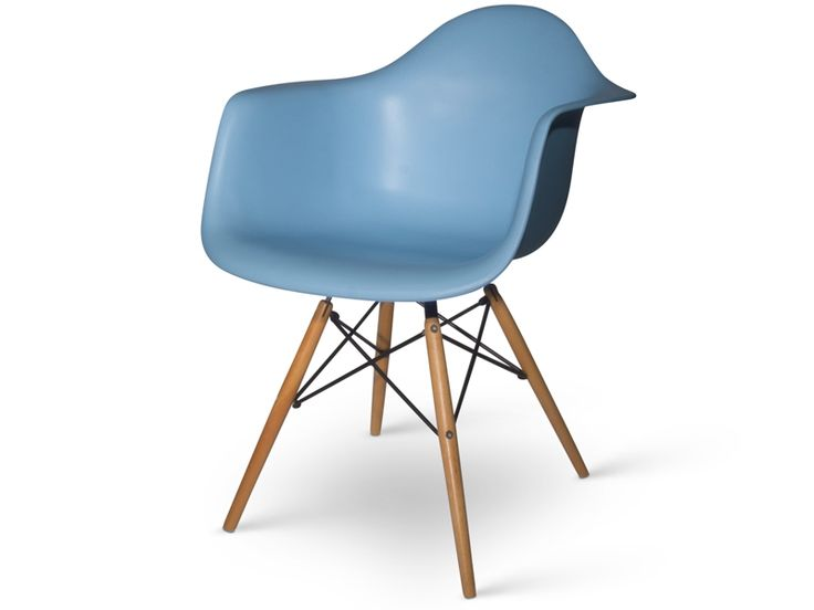 29 best chaises images on pinterest chairs color for Chaise eames bleu canard