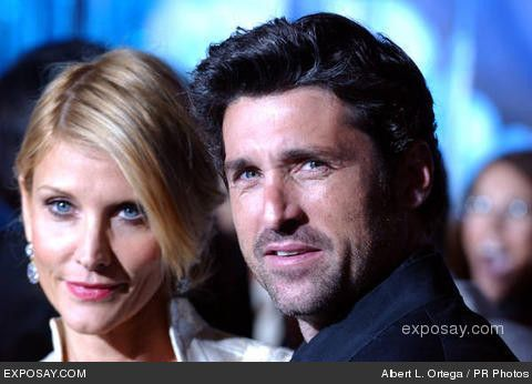 Patrick Dempsey Family | Patrick Dempsey and wife Jill - World Premiere of Walt Disney Pictures ...