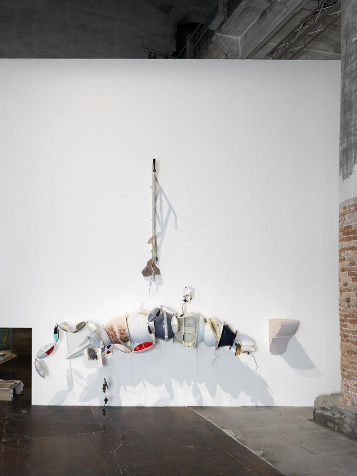 Helen Marten, 'Night-blooming genera', 2015, in'All the World's Futures', 56th International Art Exhibition, La Biennale di Venezia