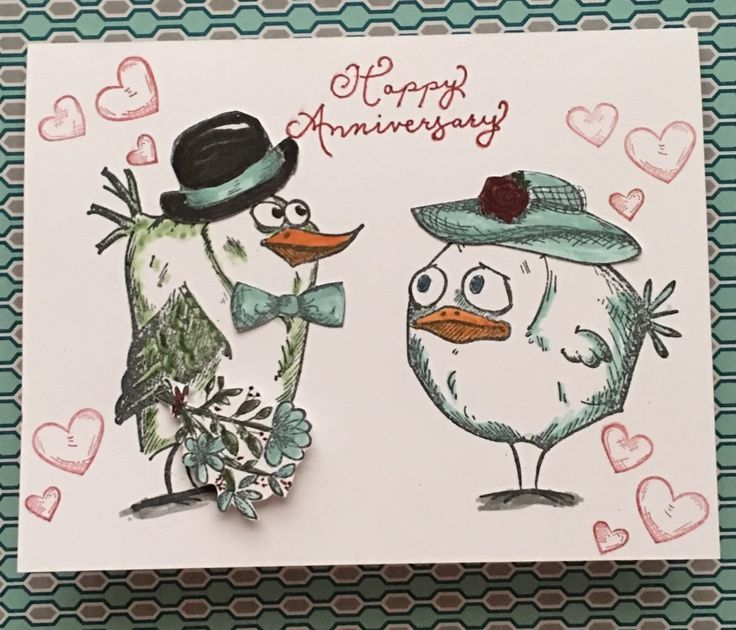 CC612, Anniversary by Marleygo - Cards and Paper Crafts at Splitcoaststampers
