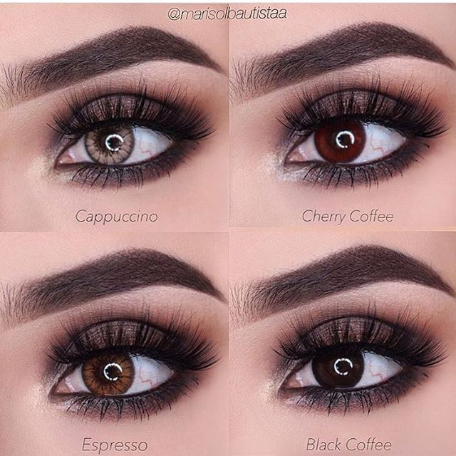 For colored contacts for asians