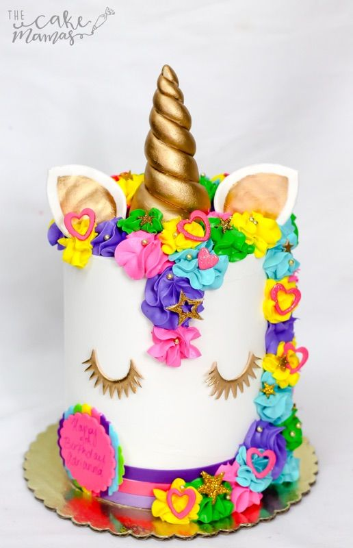 Rainbow Unicorn Themed Birthday Cake Call Or Email To