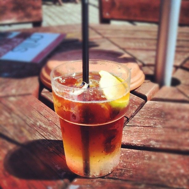 Pimms? Sunny day? Bliss.