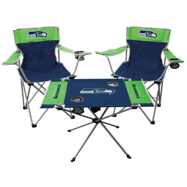 Seattle Seahawks Tailgate Chair & Table Set - $79.99