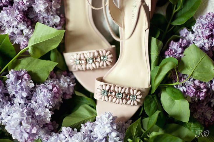 Calgary wedding photographer   wedding shoes   embellished sandals   @ninewestcanada