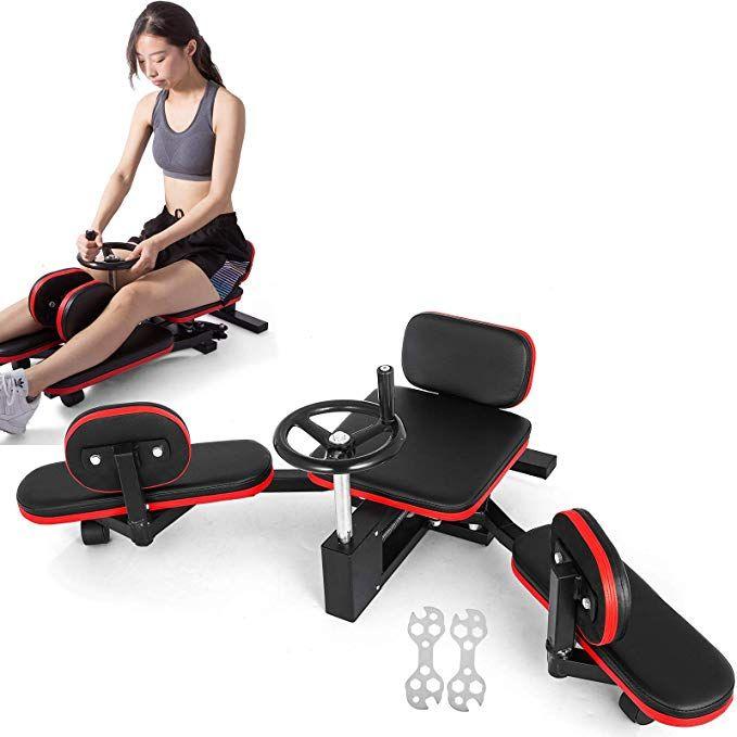 Popsport Pro Leg Stretcher 330lbs Leg Stretch Machine Heavy Duty
