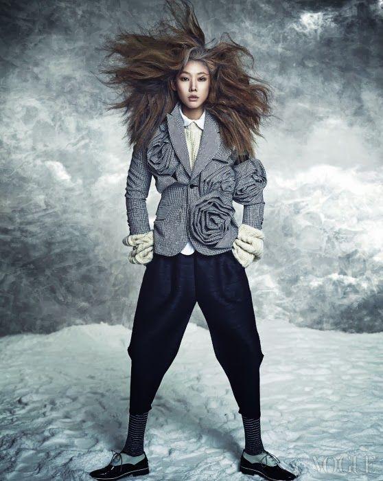 Mono Cool City, Vogue Korea December 2013