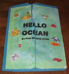 Free Hello Ocean Lapbook
