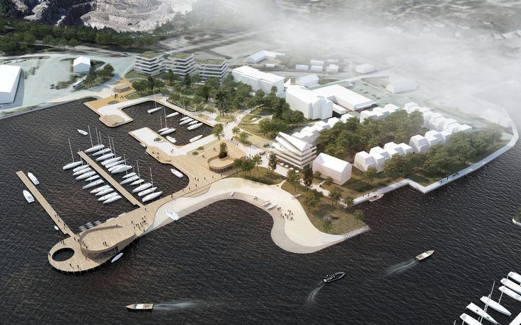 Gallery of Schauman & Nordgren Architects' Winning Masterplan Envisages New Harbour Front Identity - 4