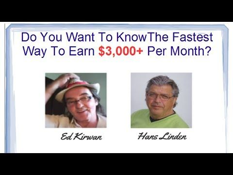 The Fastest Way To Earn $3000 Per Month SOS Be Gone by Ed Kirwan