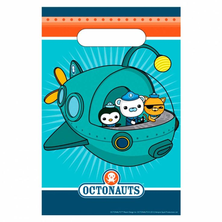 8 Octonauts Party Adventure Barnacles Kwazii Peso Plastic Gift Loot Bags  sc 1 st  Pinterest & 14 best Octonauts Party Supplies images on Pinterest | Octonauts ...
