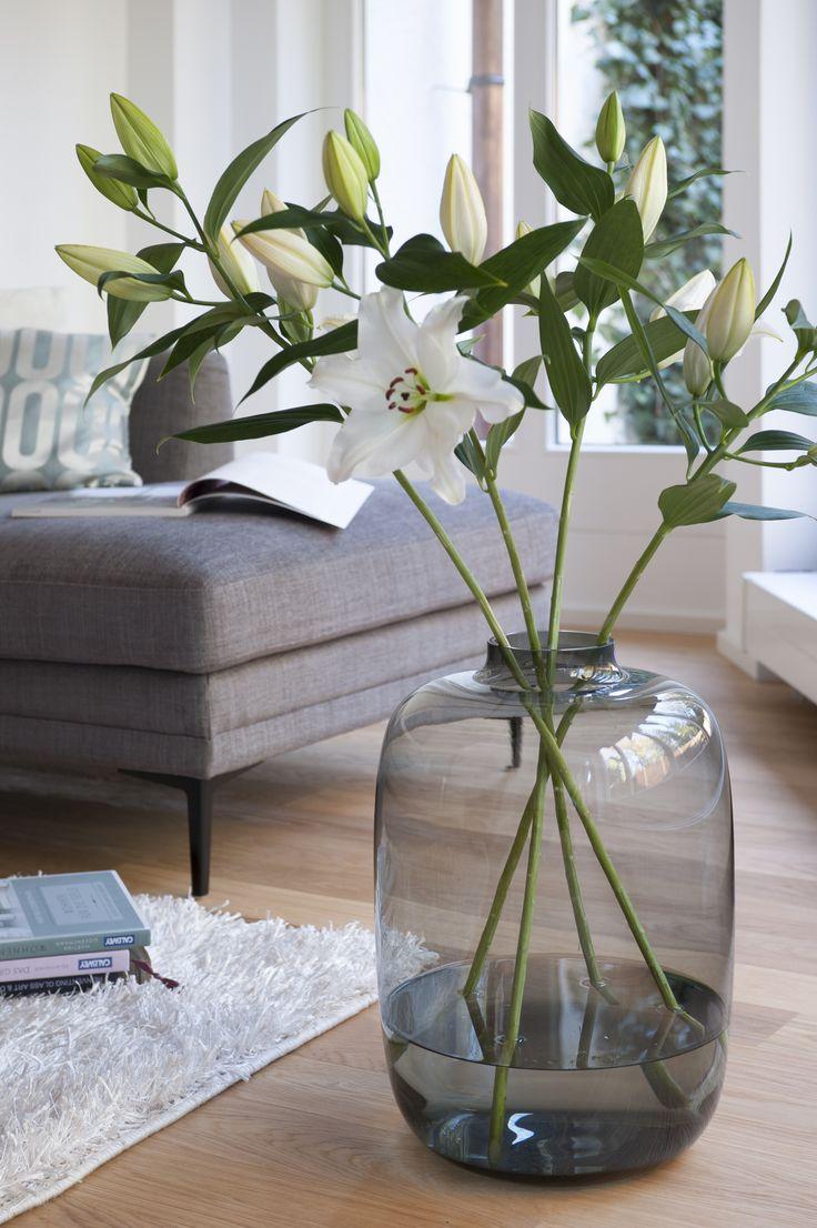 Beweist Größe bei der Dekoration! Die XL-Vase betont den opulenten Minlano-Stil.