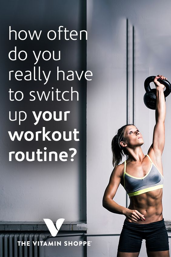 How Often Do You Really Need To Switch Up Your Workout Routine What S Good By V Workout Routine Workout Fitness Tips