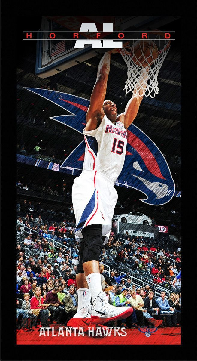 Al Horford Atlanta Hawks Player Profile Wall Art 9.5x19 Framed Photo