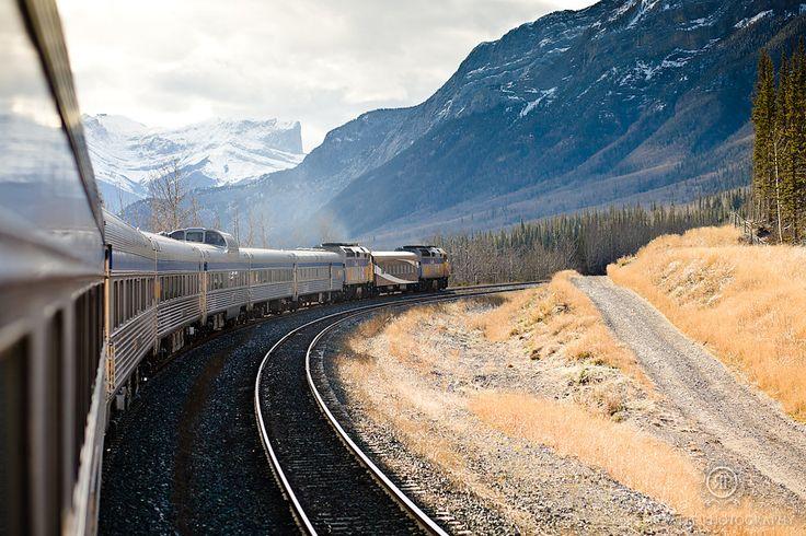 Jasper, Alberta VIA Rail Canada Travel photos by: Rowell Photography @Sandra Kaiser Canada