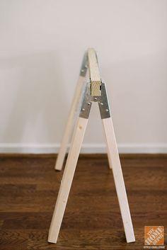 DIY SawhorseTable Tutorial