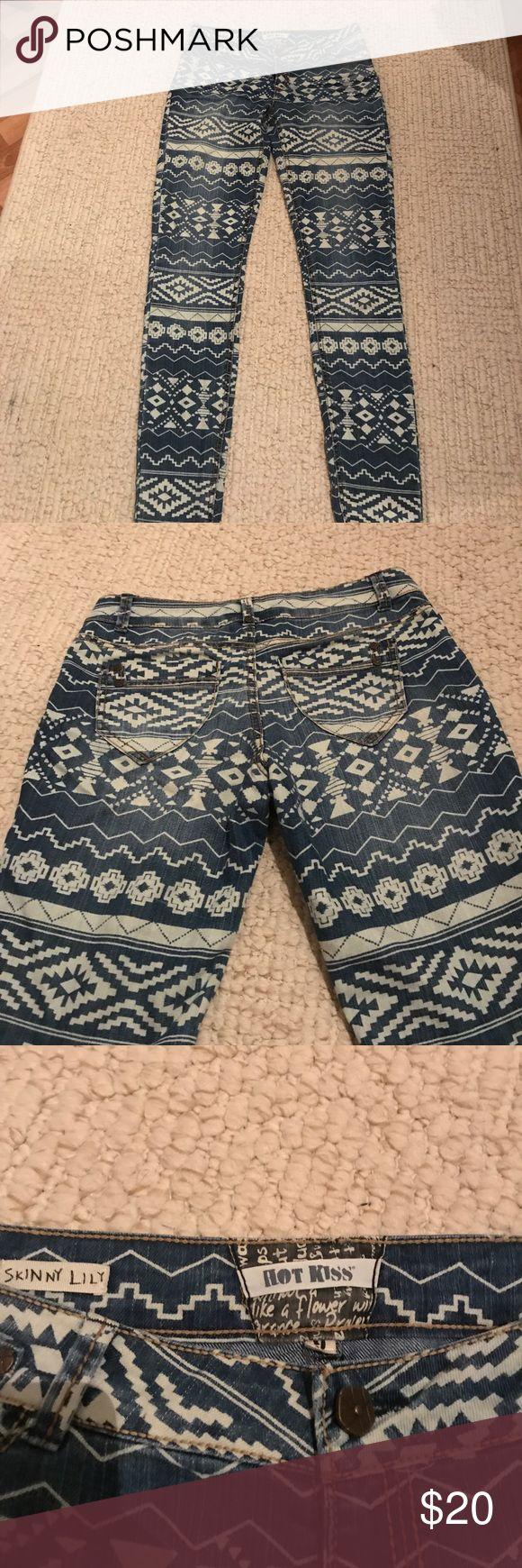 Aztec Jeans Hot Kiss Skinny Lily Size 9 Aztec Jeans- Never Worn Hot Kiss Jeans Skinny