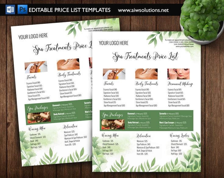 Best 25 nail salon prices ideas on pinterest nail for Price list brochure template
