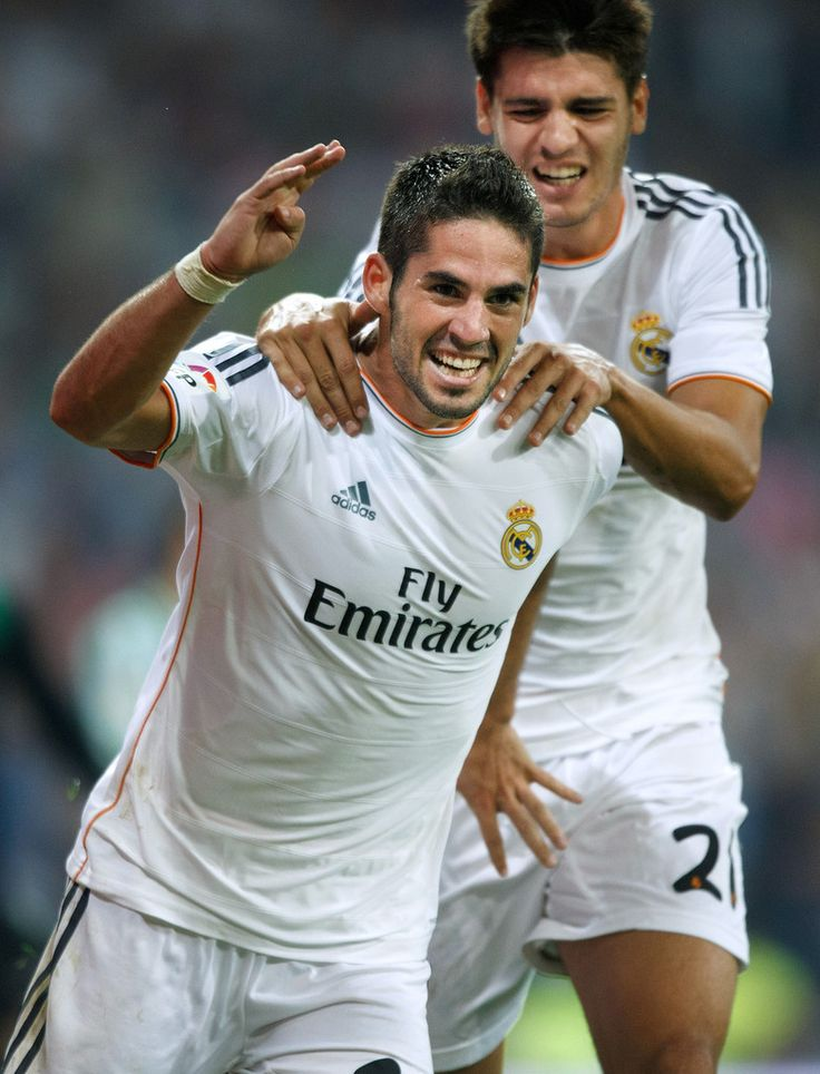 Isco. Real Madrid 2 - Real Betis 1