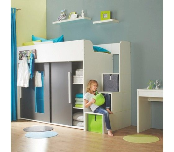 17 best ideas about hochbett kinder on pinterest. Black Bedroom Furniture Sets. Home Design Ideas