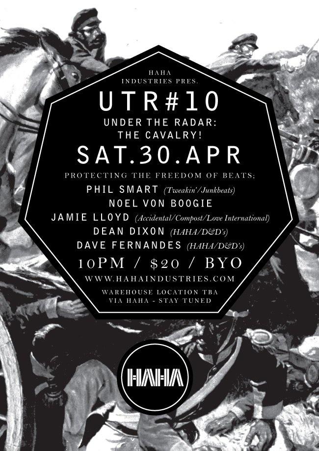 UTR #010 with D&D, Jamie Lloyd, Noel Boogie & Phil Smart