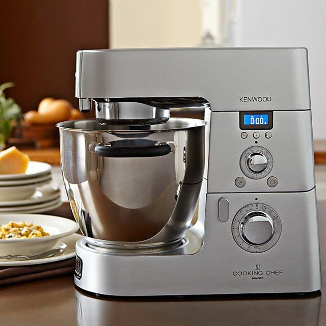 Fancy - Kenwood Cooking Chef/Do I need this more than my KitchenAid?? I certainly would like to give it a try!!