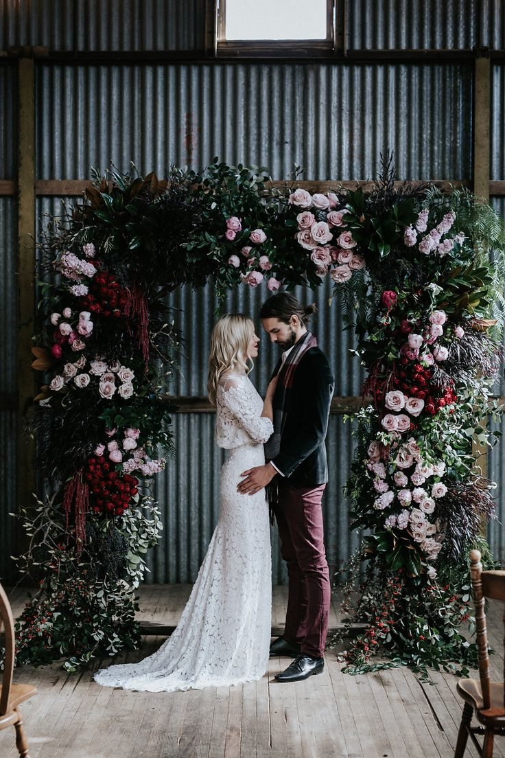 Waldara Winter Wedding | Inspiration by LOVE FIND CO.