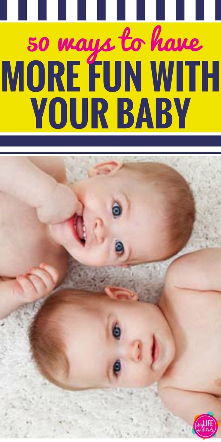 Have a baby? If you're a mom, you'll love these 50 ways to have fun with your baby - even if it's still a newborn. These fun and silly games will keep both you and baby entertained and will help baby meet important milestones.