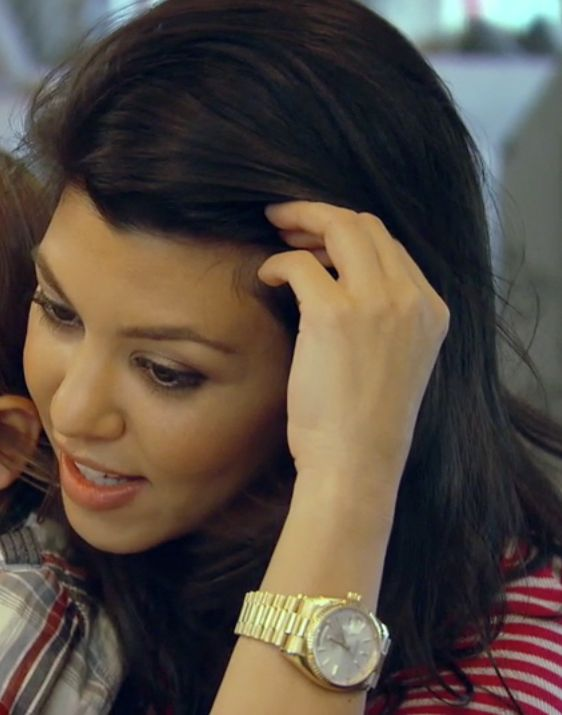 Kourtney Kardashian S Gold Watch From Keeping Up With The