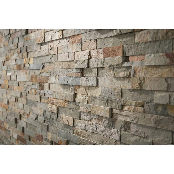 Outdoor Tile Natural Stone : Shop anatolia tile oxide ledgestone natural stone random