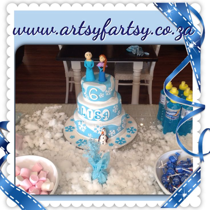 Frozen Cake at Party!