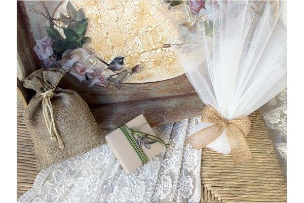 Μπομπονιερες γαμου με ελια και λινατσα κορδελα