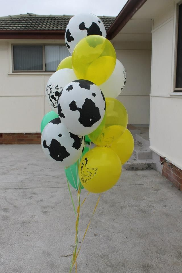 Cow print green n yellow