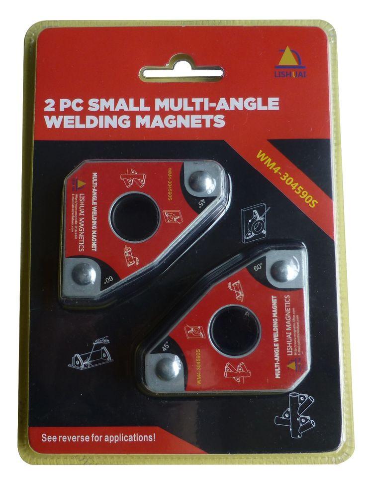 Multi-angle Las Mini Magnet/Neodymium Magnet Penjepit untuk Memegang dengan Twin Pack