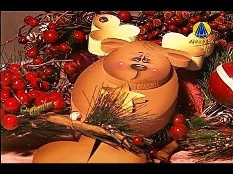Tudo Artesanal | Alce Guirlanda por Diná Rocha - 01 de Dezembro de 2012