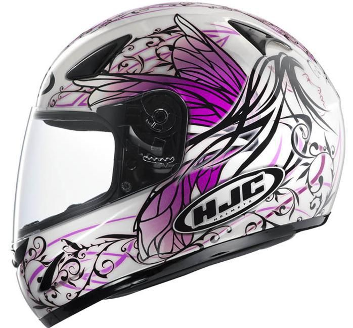 Women's Favorite Motorcycle Helmets | ... Angel SNELL HJC Motorcycle Helmets,Full Face Helmets CS-14 for women