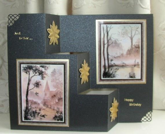 Three Steps Card by Sheila Weaver - Joanna SheenFancy Folding, Sheila Weaver, Joanna Sheen, Cards Folding, Folding Cards, Cards Techniques, Paper Crafts, Step, Cardmaking Scrapbook