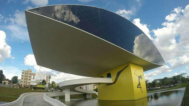 Museu Oscar Niemeyer Curitiba PR