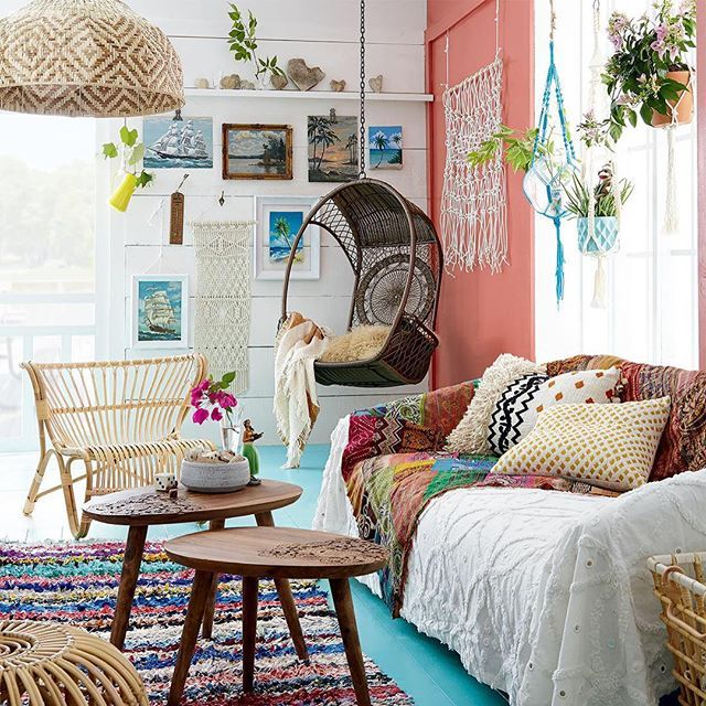 If you've ever dreamed of transforming your sitting area into a boho-chic space, you need to check out this colourful high/low from our August issue! Visit styleathome.com/decorating-and-design/high-low to learn more {Photo: @michaelnangreaves   Styled by: @andymaccbrooklin}  Shot this a few years back now..