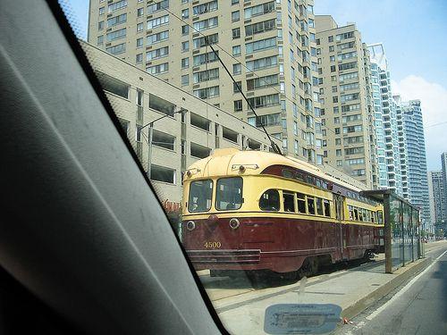 PCC vintage streetcar