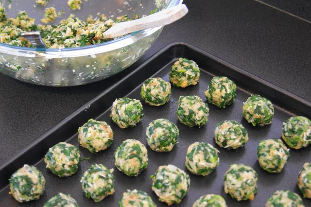 The Kitchen is My Playground: Spinach Balls
