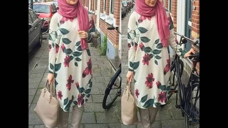 موضة ملابس محجبات كاجوال 2016 casual hijab fashion style
