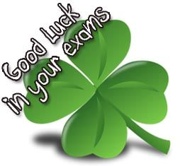 Good Luck for your Exam wishes and messages