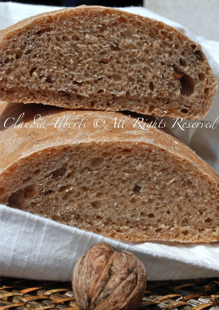 Pane al Farro e noci con Lievito madre – Verde Cardamomo