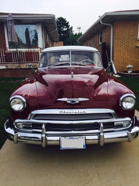 1951 Chevrolet Bel Air Deluxe 2 Door Hardtop Excellent Condition for sale: photos, technical specifications, description
