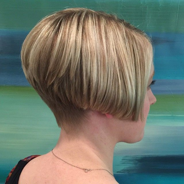 I Adore A Stacked Bob Especially When The Color Is This