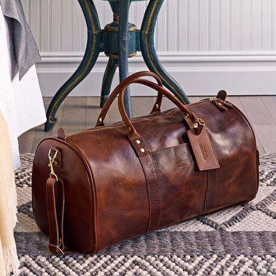 Континентальный сумка Duffle | Коричневая кожа | JW Hulme Ко